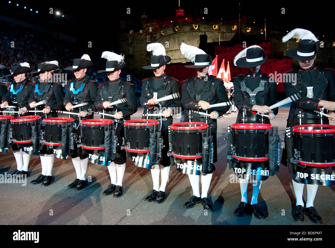 Edinburgh Military Tattoo 2009 Show, Scotland, UK Stock Photo
