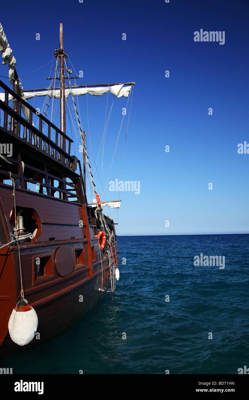 sailing ship - Stock Image