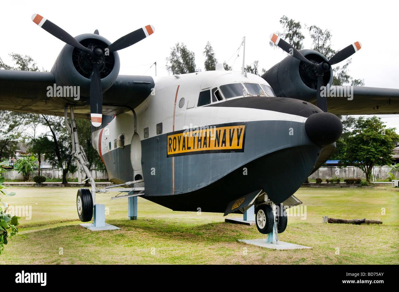 Royal Thai Navy Museum in Samut Prakan Thailand Stock Photo