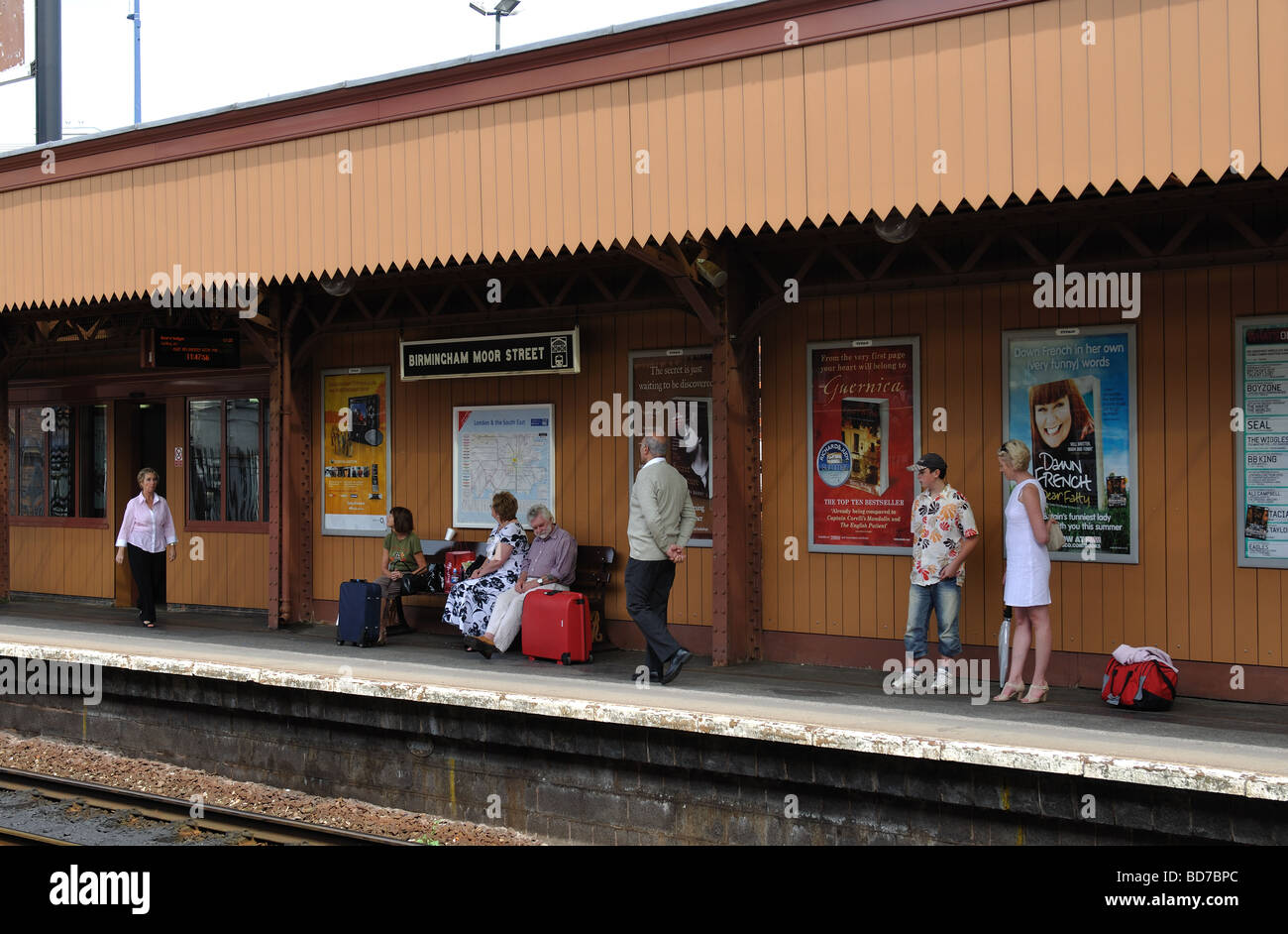 Moor Street railway station, Birmingham, England, UK Stock Photo