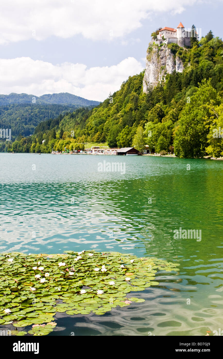 Lake Bled Slovenia - Stock Image