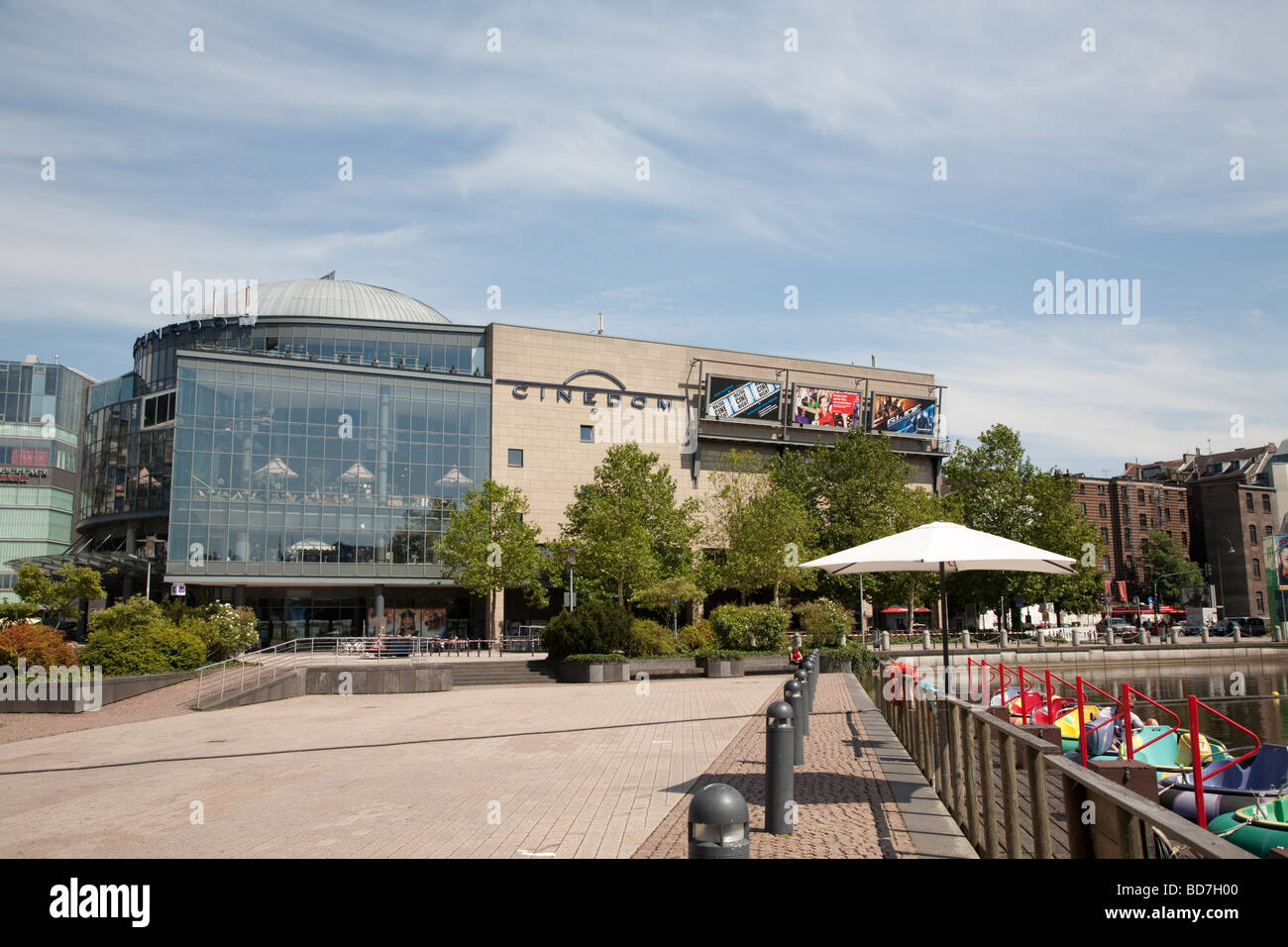 Cinedom cinema multiplex in Cologne Germany - Stock Image