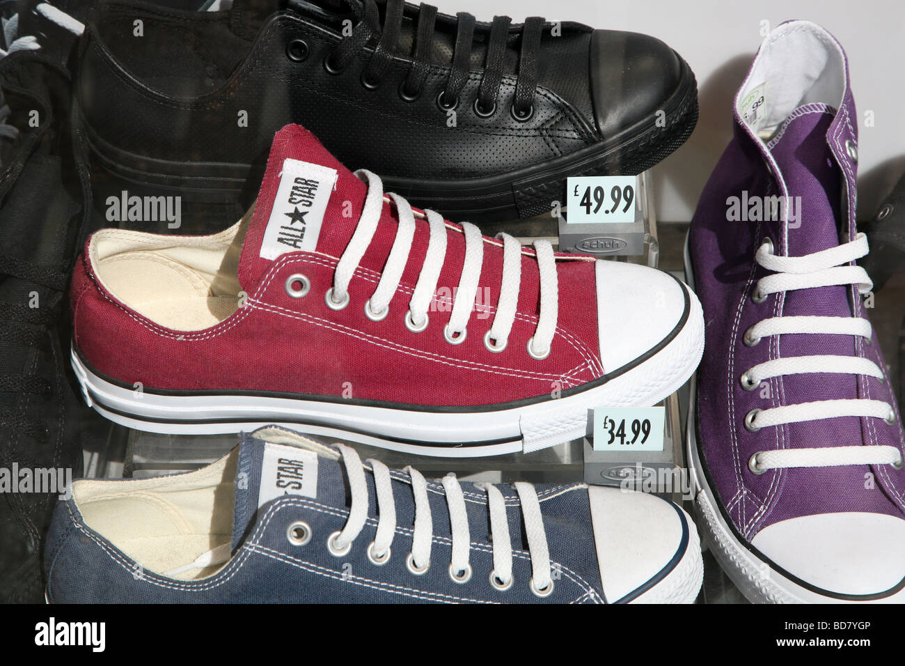 converse london, mens and womens Converse All Star shoes