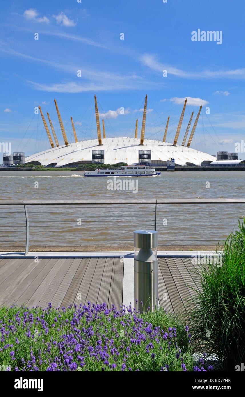 O2 arena Millennium Dome, London, United Kingdom - Stock Image