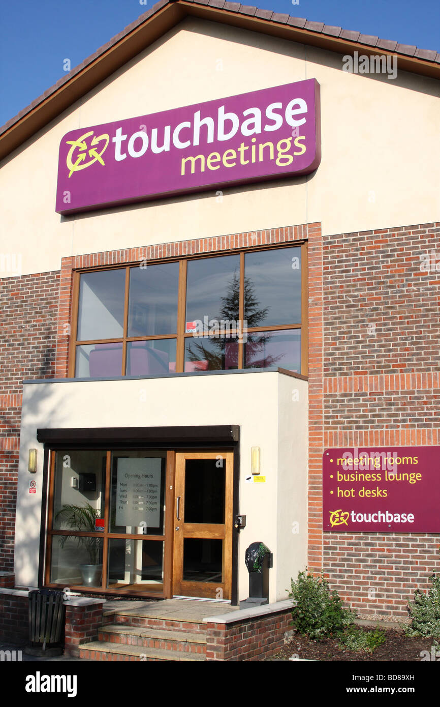 Touchbase meeting rooms and temporary office space for lease in a