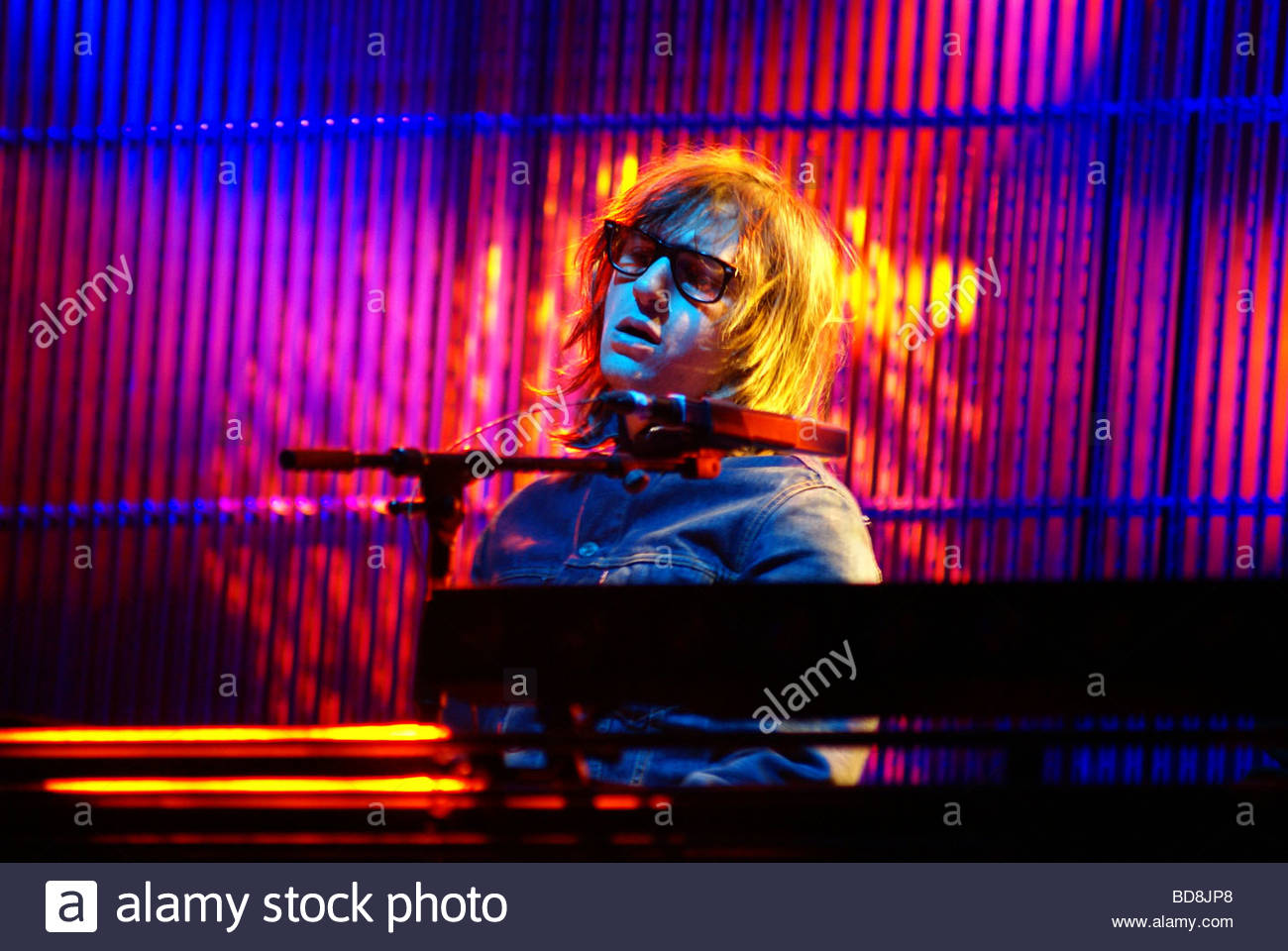 Little Mike - Birdy Nam Nam performing live - Stock Image