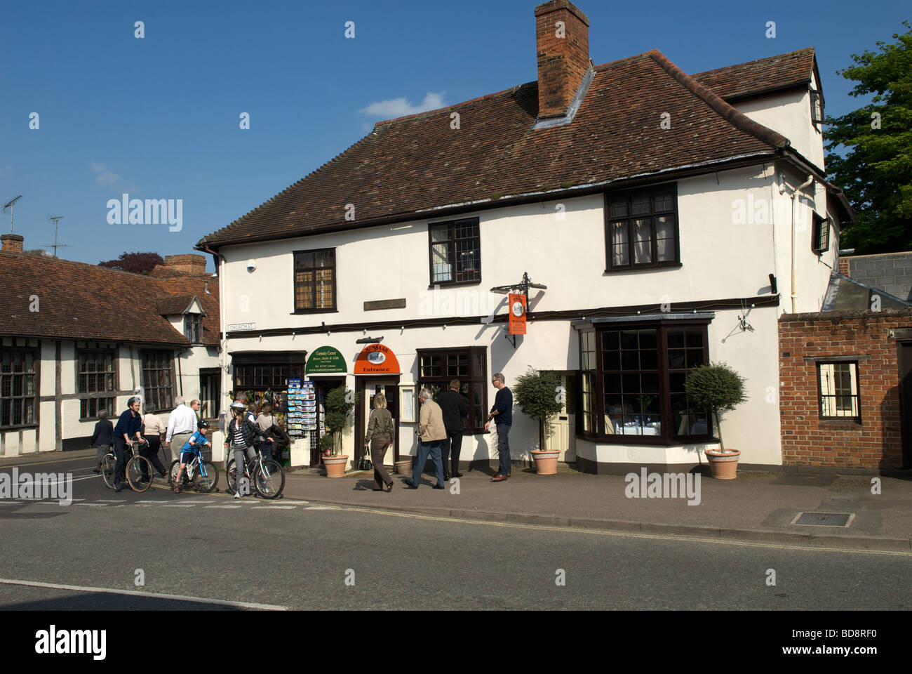 Local shop, Lavenham, Suffolk, UK. - Stock Image