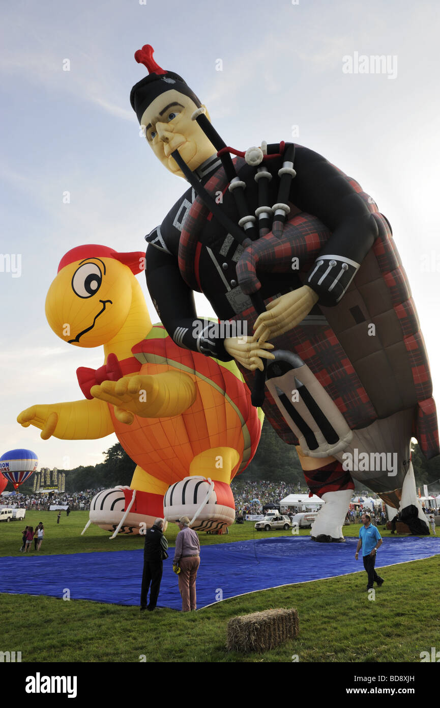 Giant piper at Bristol International Balloon Fiesta 2009 - Stock Image