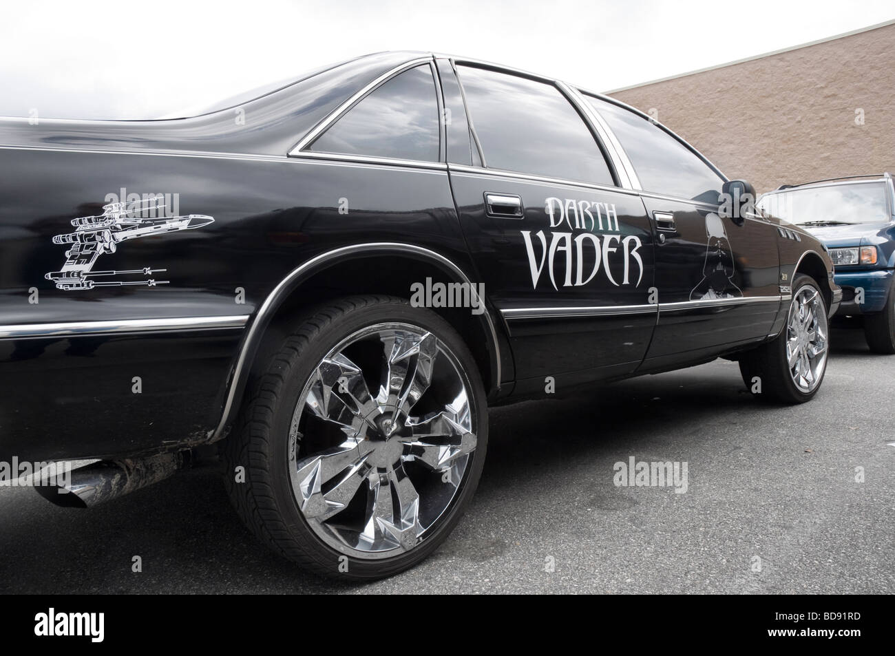 Star Wars Car High Resolution Stock Photography And Images Alamy