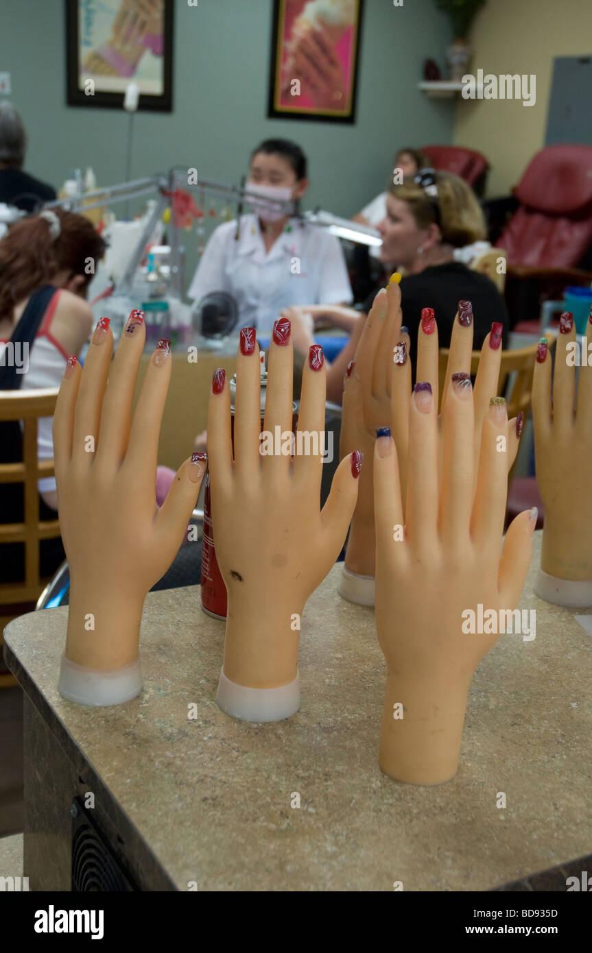 Fake Nails Stock Photos & Fake Nails Stock Images - Alamy