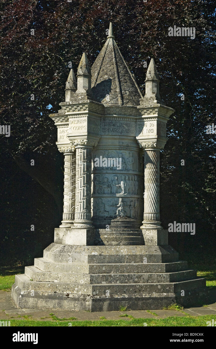 The Wolds Waggoners Memorial Sledmere East Yorkshire England UK