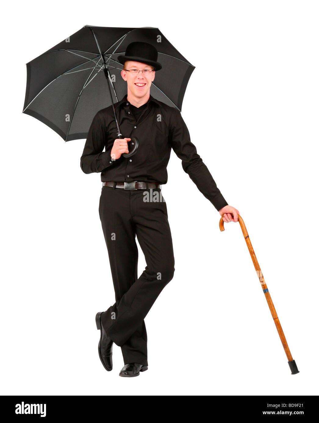 4e02b09ace2 Bowler Hat Umbrella Stock Photos   Bowler Hat Umbrella Stock Images ...