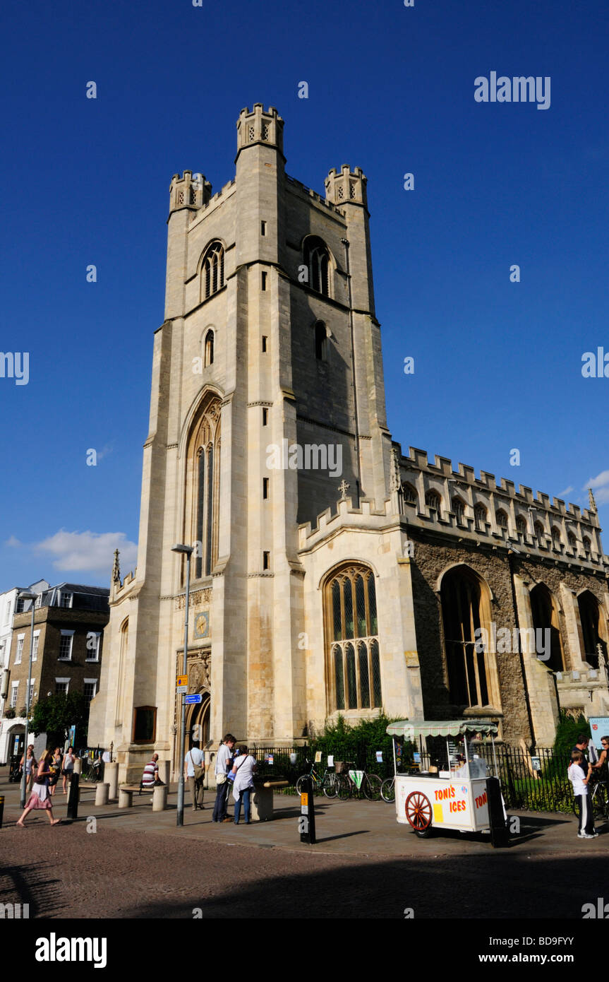 Great St Mary's Church, Cambridge England UK - Stock Image