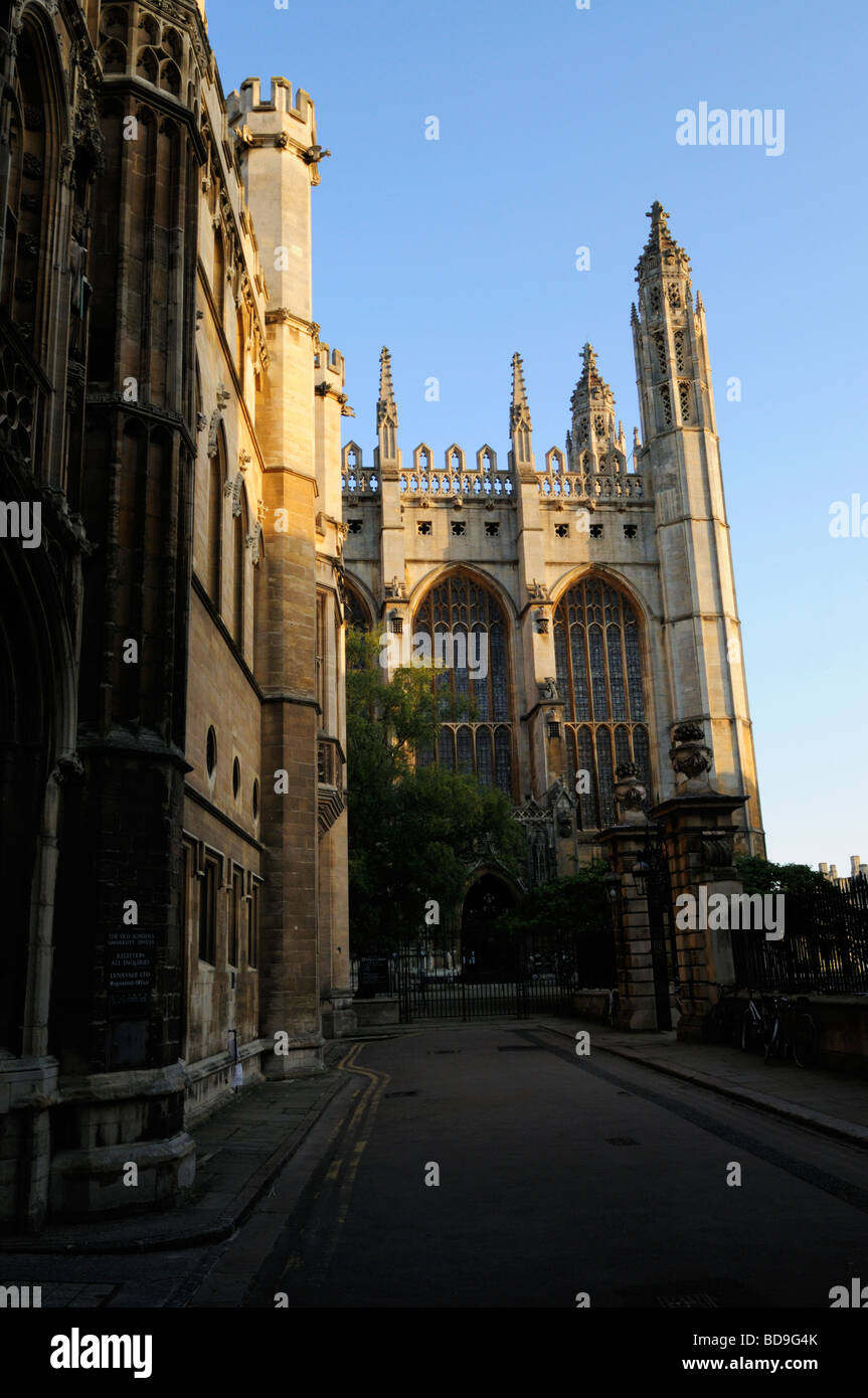 Kings College Chapel Cambridge England Uk - Stock Image