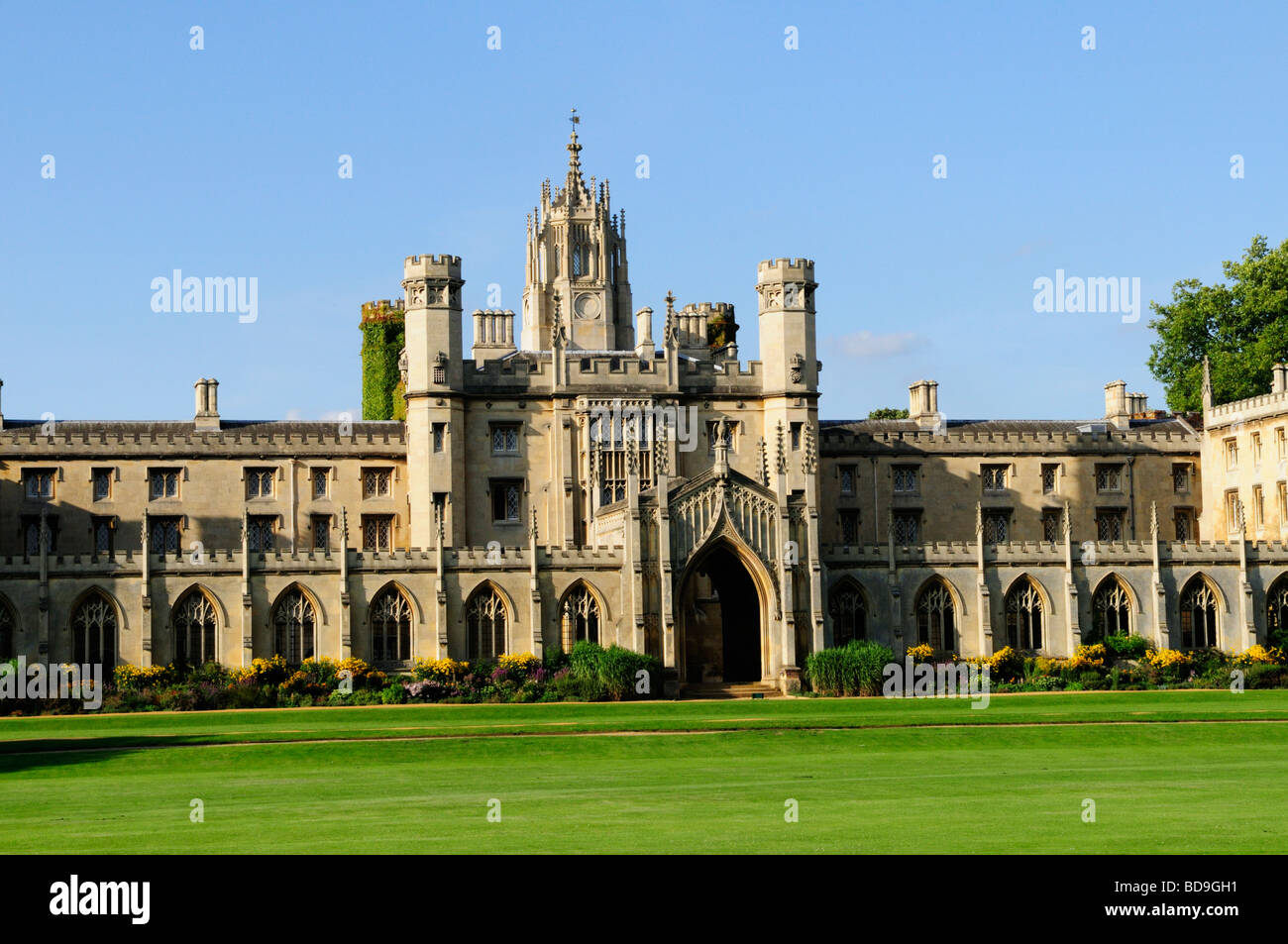 New court at St Johns College Cambridge England UK - Stock Image