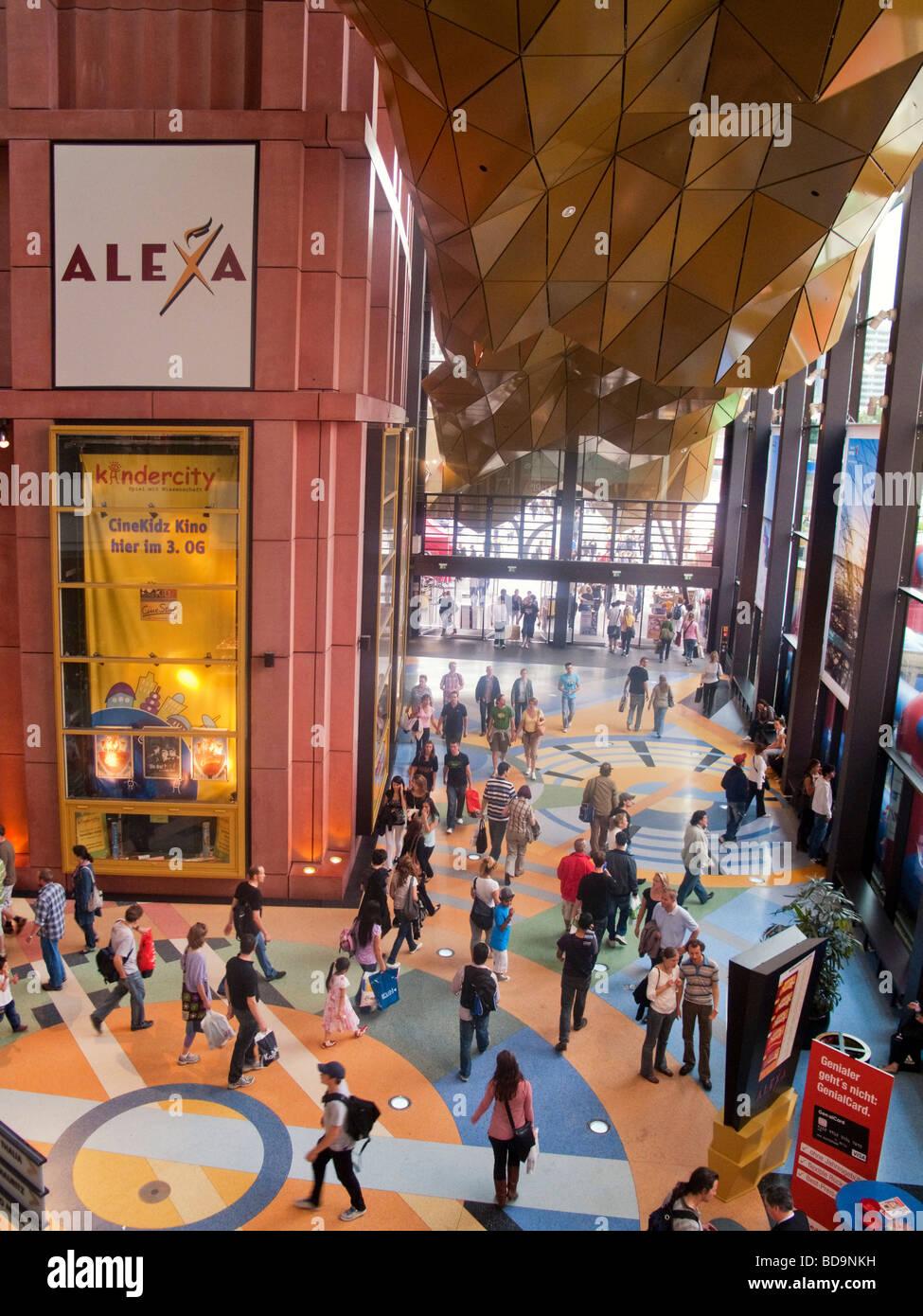 Berlin Alexa shopping center Alexander square Berlin Germany  - Stock Image