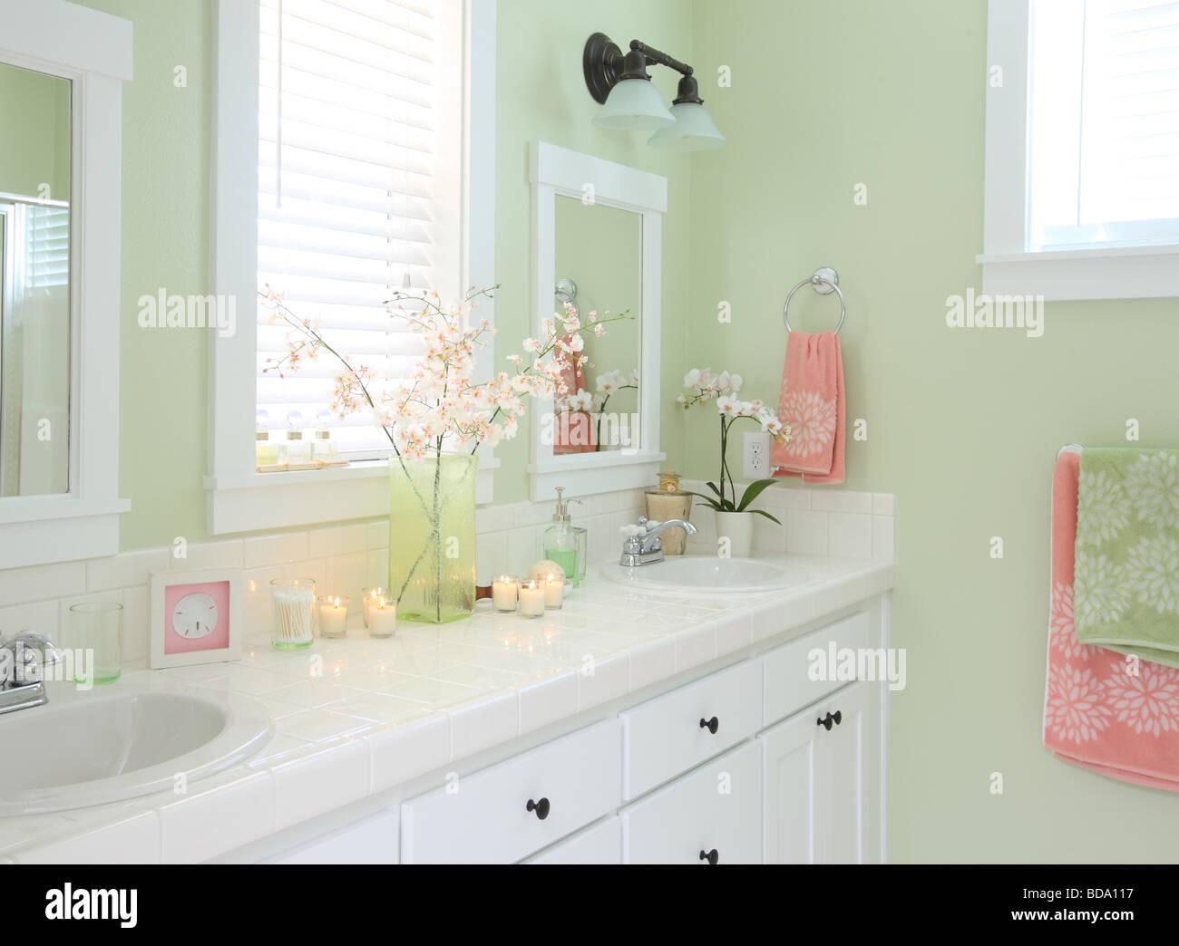 Bathroom interior - Stock Image