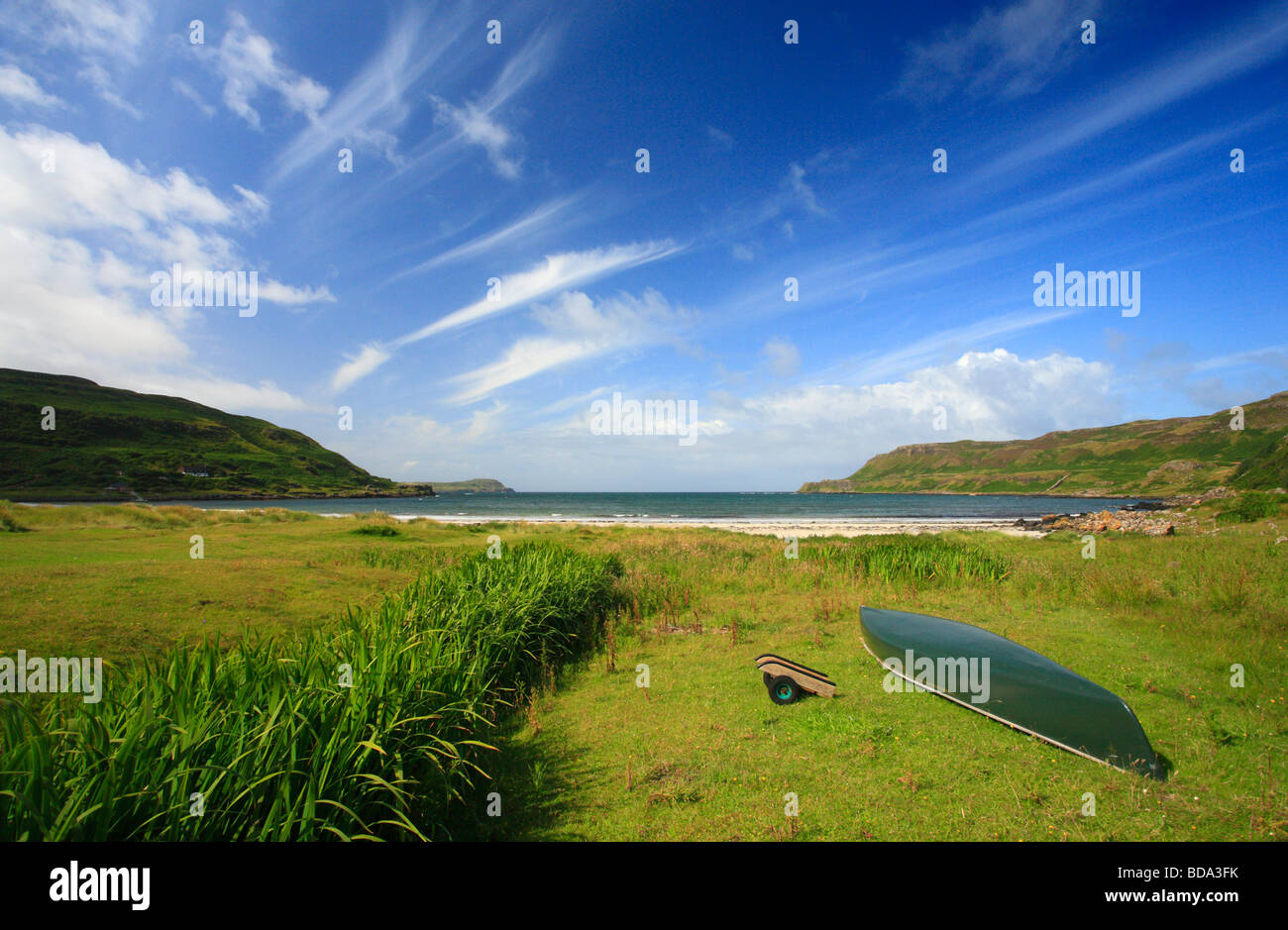 Calgary Bay on the Isle of Mull, Scotland. - Stock Image