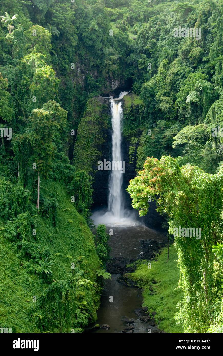Sopoaga Falls, Upolu Island, Western Samoa - Stock Image