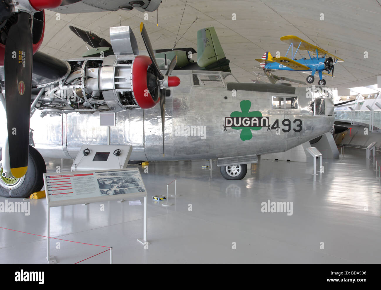 Consolidated B 24 Liberator Stock Photos & Consolidated B 24