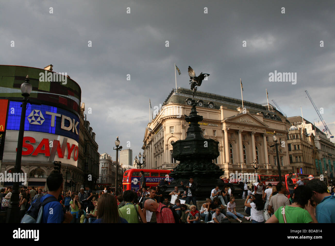 Picadilly Circus, London - Stock Image