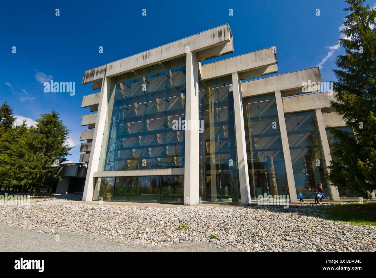 The Anthrolpology museum University of British  Columbia Vancouver - Stock Image