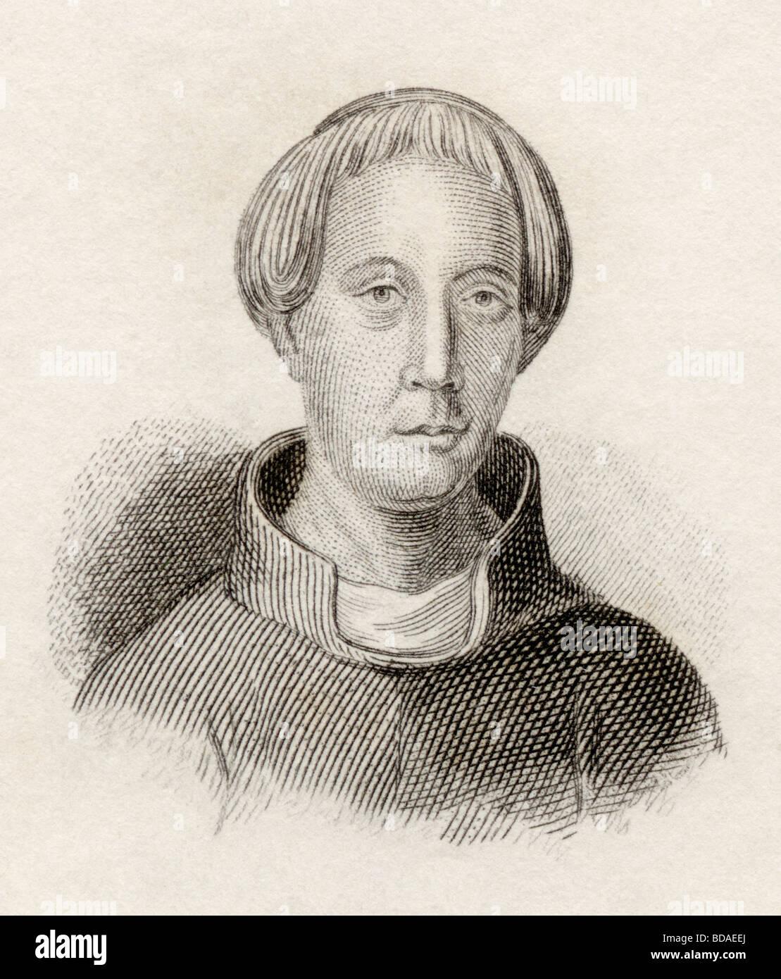 Gerald of Wales born circa 1146 died circa 1223 aka Gerallt Gymro, Giraldus  Cambrensis or Gerald de Barri.