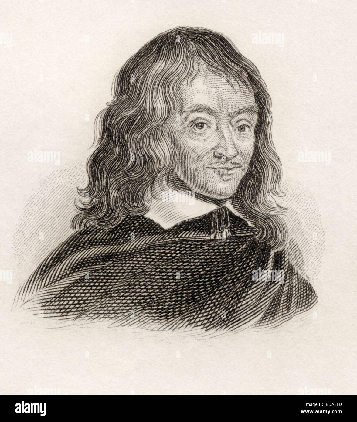 Claudius Salmasius aka Claude Saumaise 1588 to 1653.  French classical scholar. - Stock Image