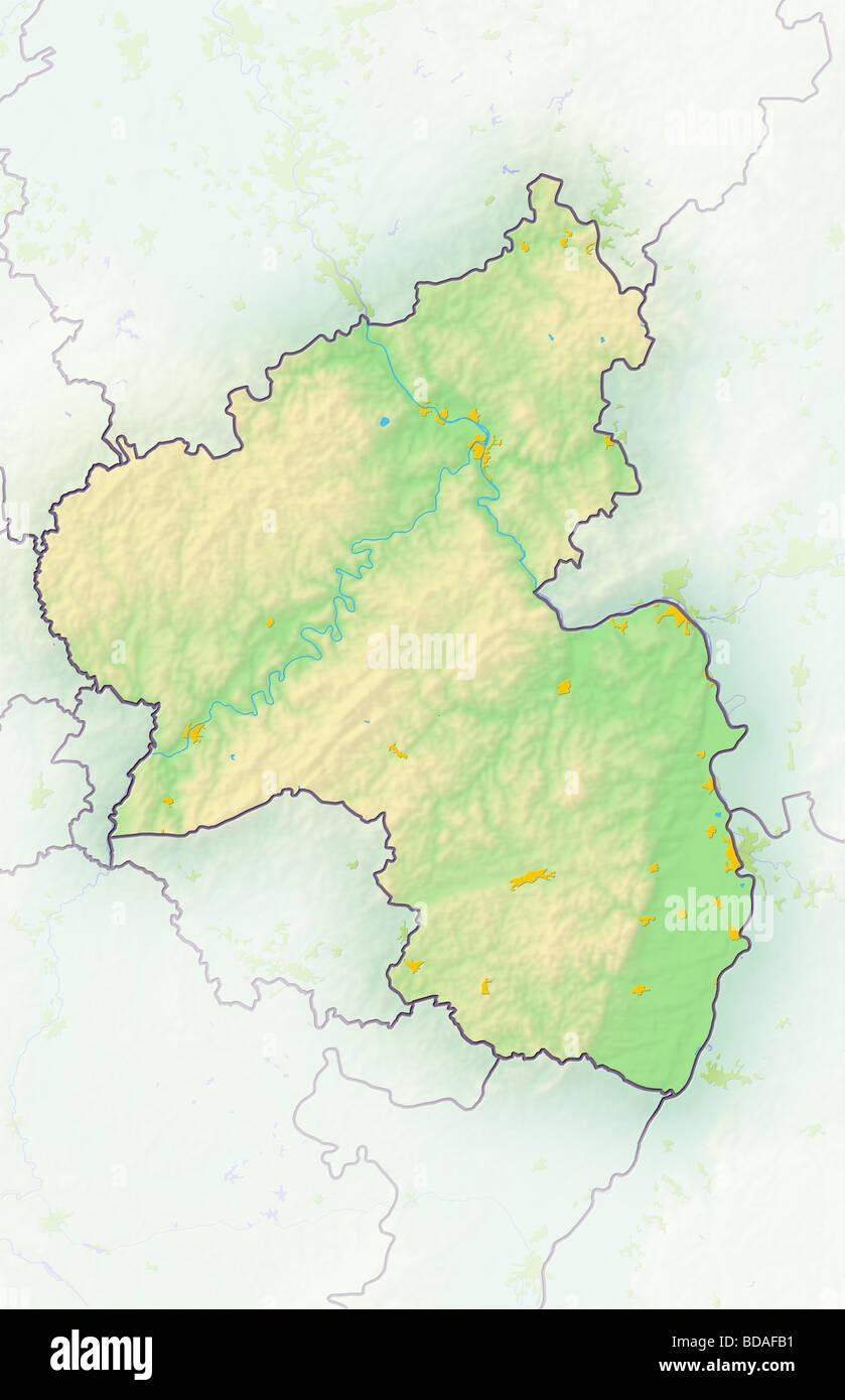 Rhineland Palatinate RheinlandPfalz german federal state