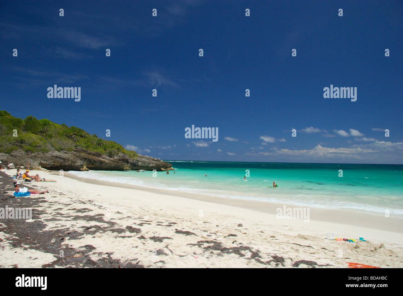 Navio Beach, Vieques Island, Puerto Rico Stock Photo