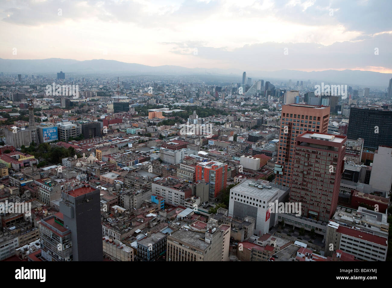 View of Mexico City, Mexico - Stock Image