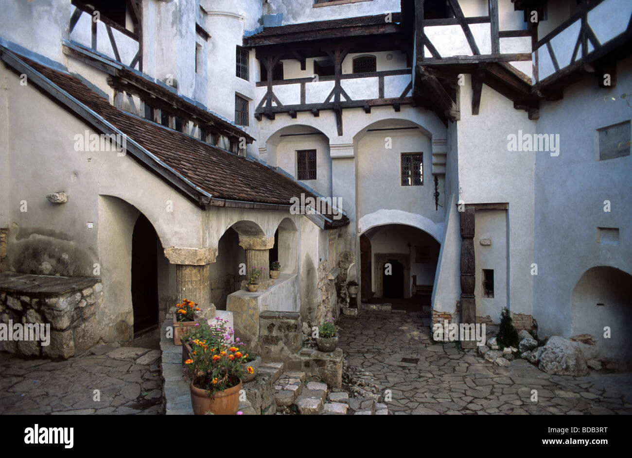 Interior Courtyard Of Bran Castle Or Dracula S Castle Transylvania Stock Photo Alamy,Easy Diy Christmas Tree Decorations
