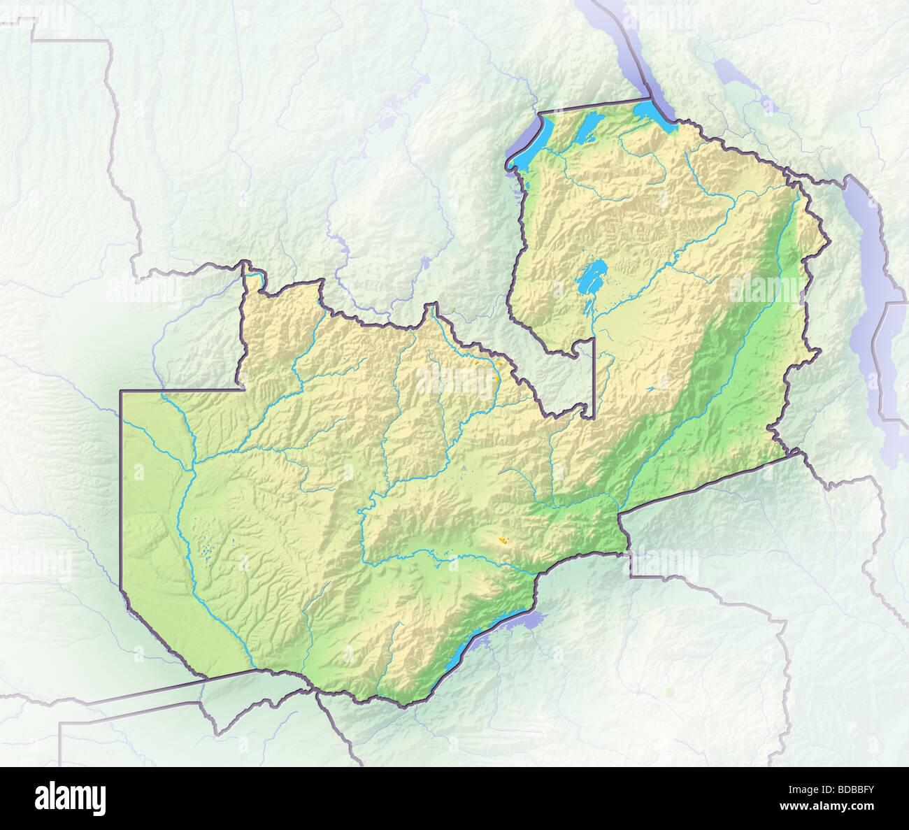 Map Zambia.Zambia Map Stock Photos Zambia Map Stock Images Alamy