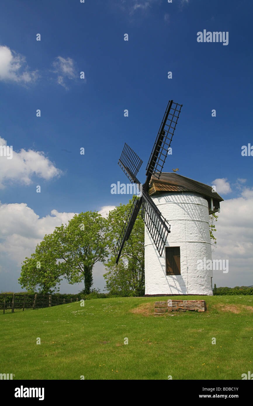 Mill Grinding Stone Windmill Stock Photos
