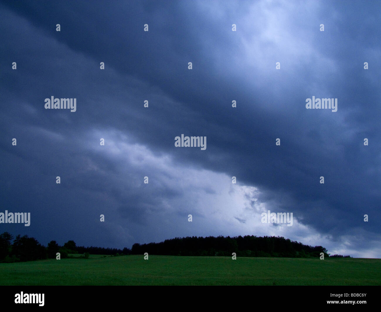 Extreme weather - Stock Image