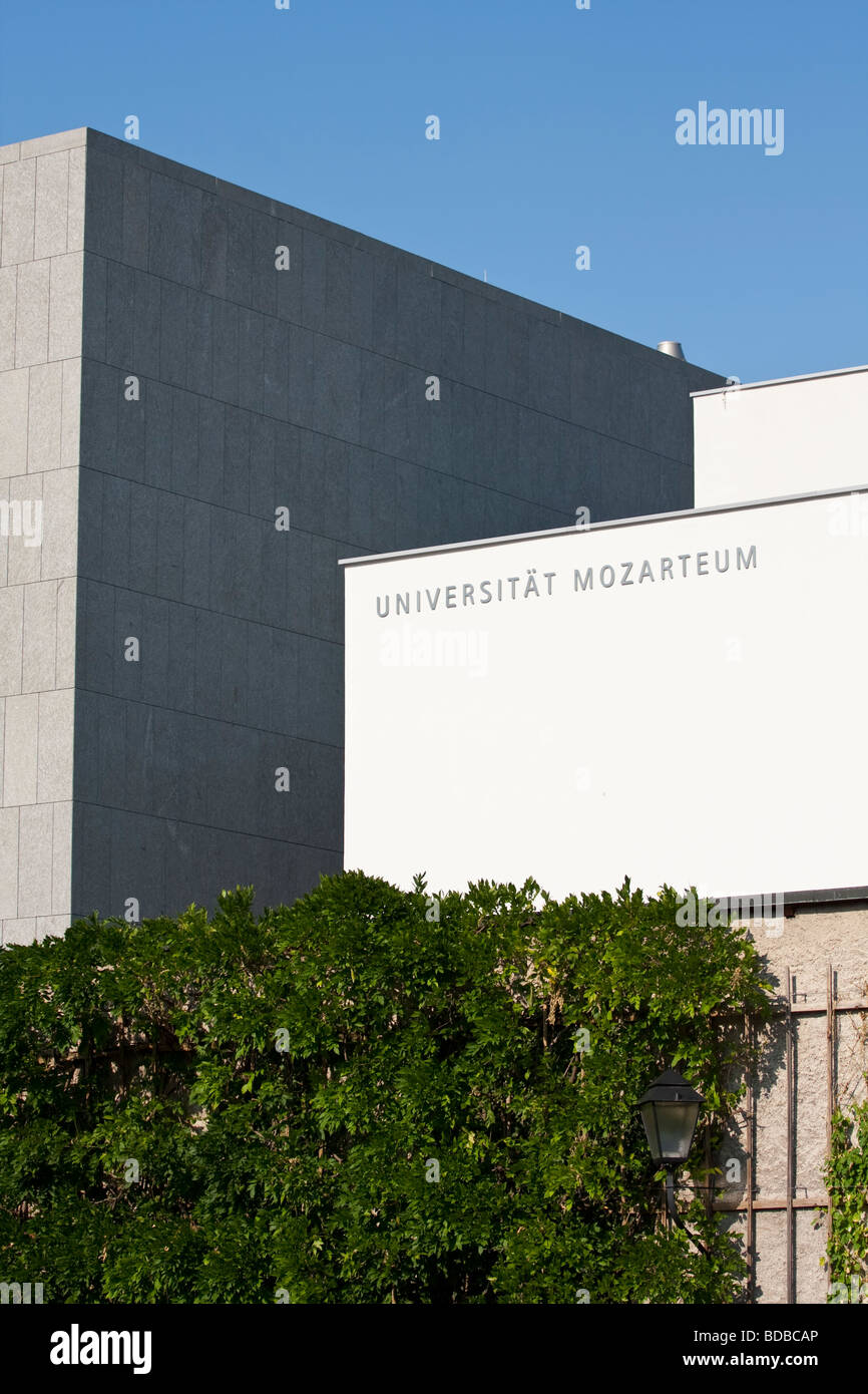 Mozarteum University of Salzburg, Universität Mozarteum Salzburg - Stock Image