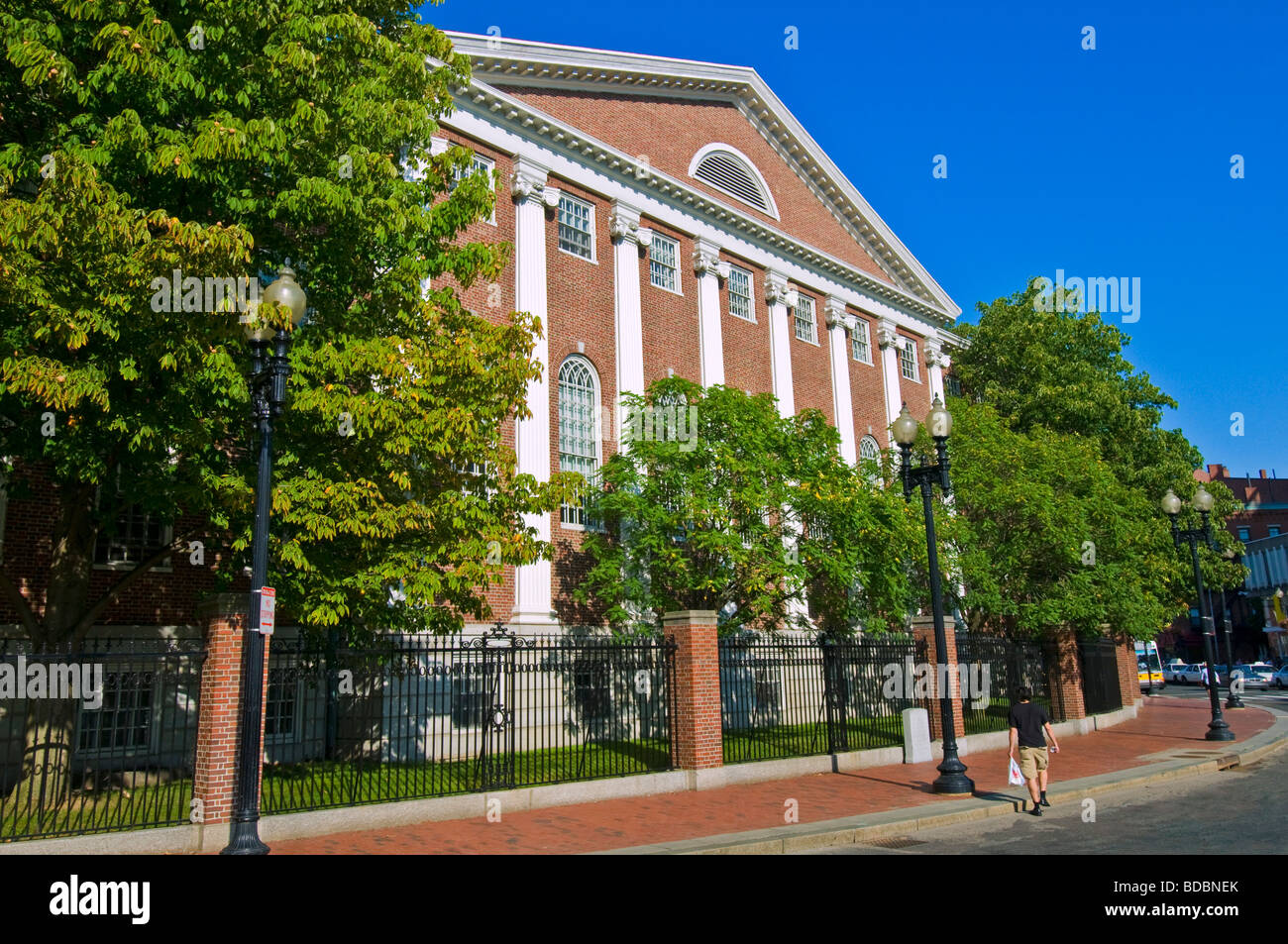 Harvard University Boston - Stock Image