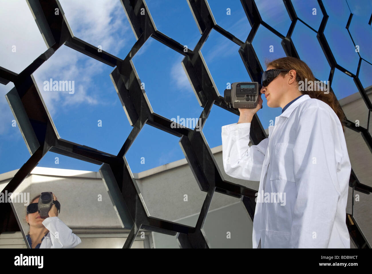Institute of Technical Thermodynamics (DLR) – research on solar energy, Cologne, Germany - Stock Image