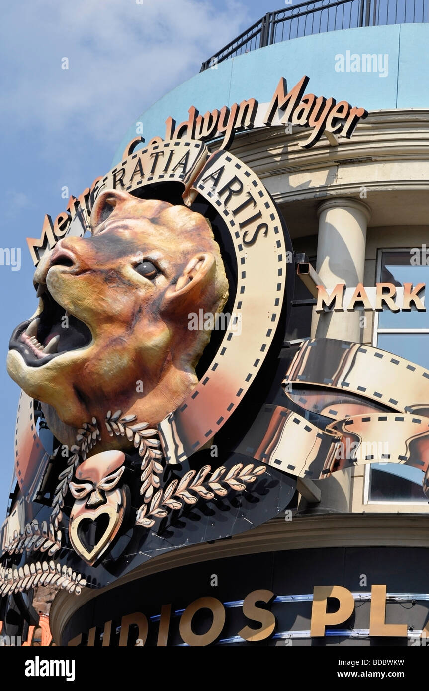 MGM Retail Store - Attractions on Clifton Hill, Niagara Falls, Ontario, Canada - Stock Image