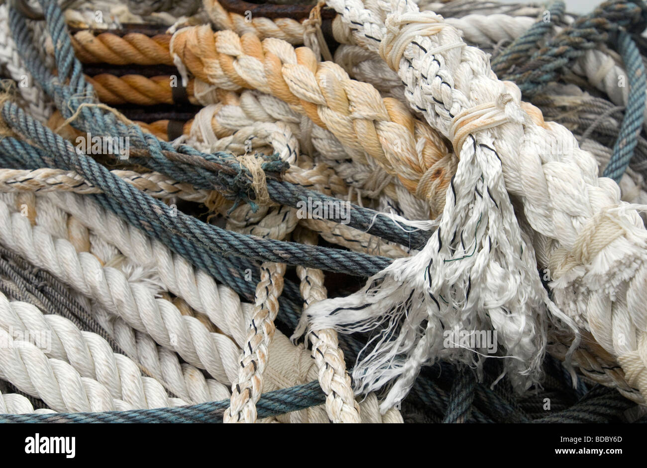 Rope End Knots Stock Photos & Rope End Knots Stock Images