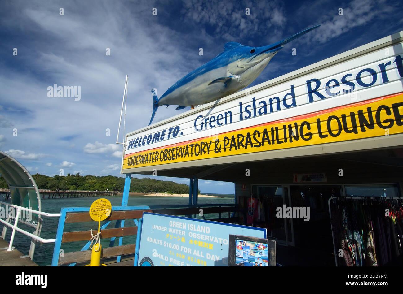 Green Island Resort Jetty Near Cairns Queensland