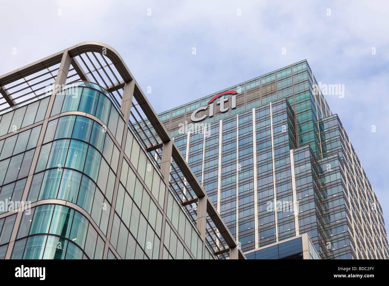CITI Bank in London - Stock Image