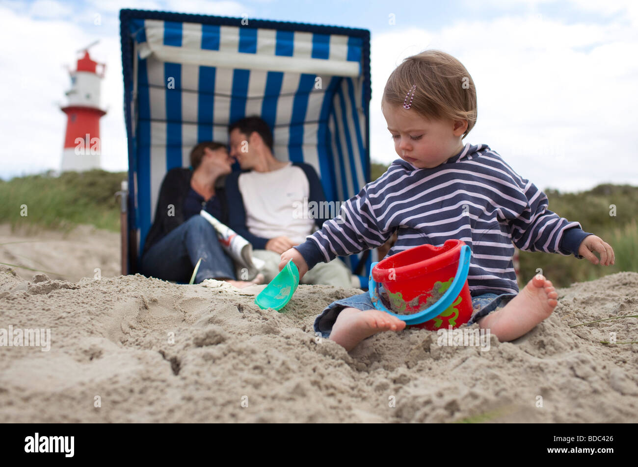 Family vacation . - Stock Image