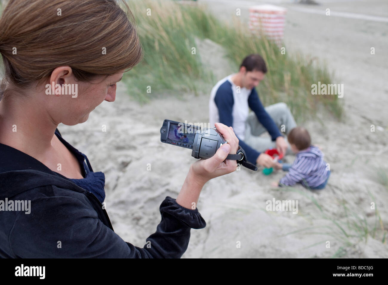 Family vacation - Stock Image