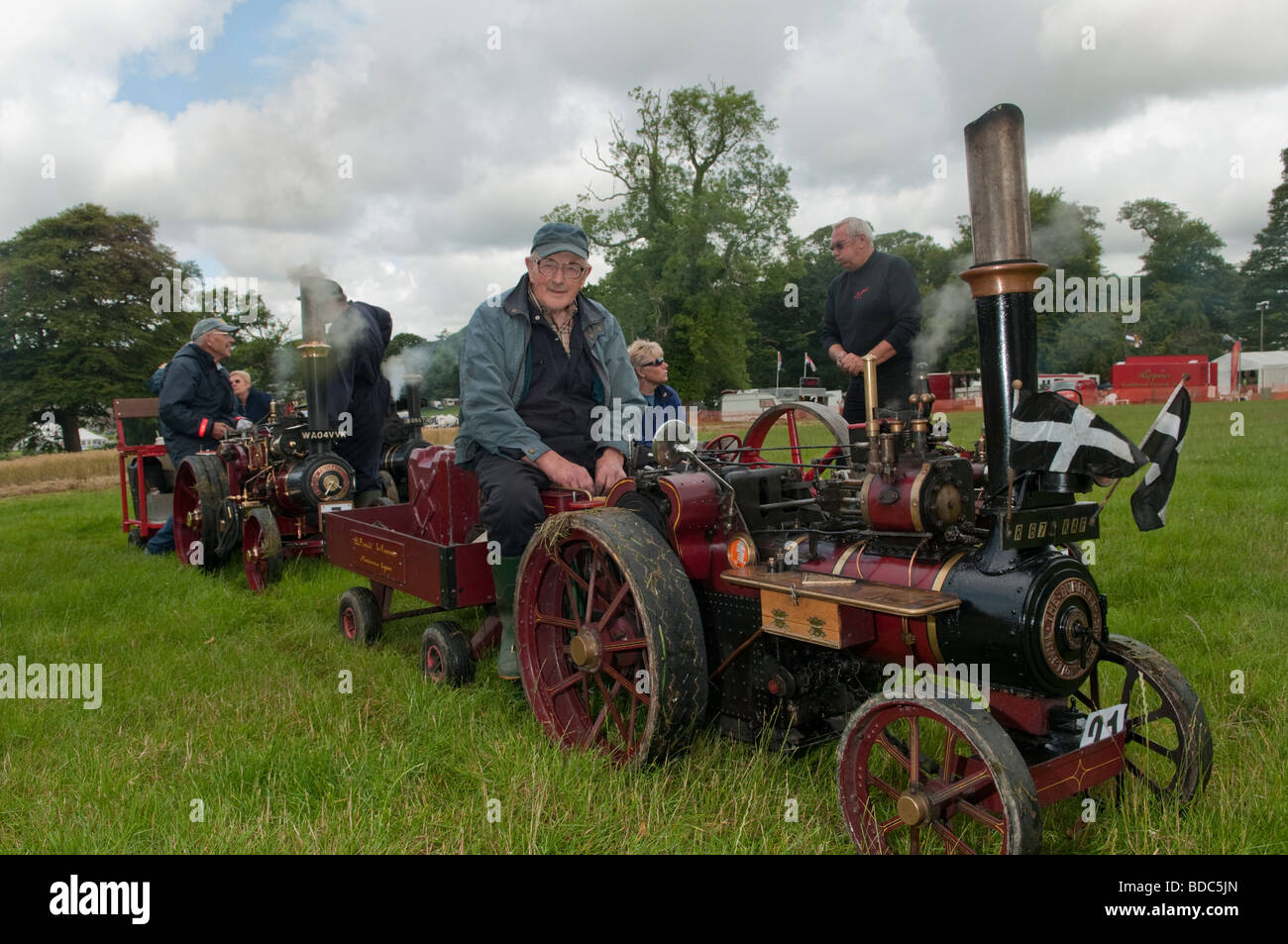 Miniture & Steam engines - Stock Image