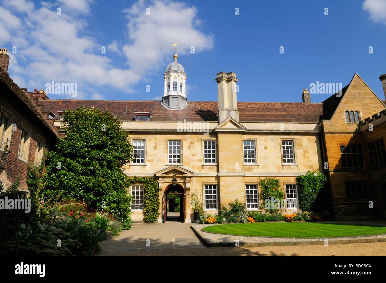 Trinity Hall College Cambridge England UK Stock Photo