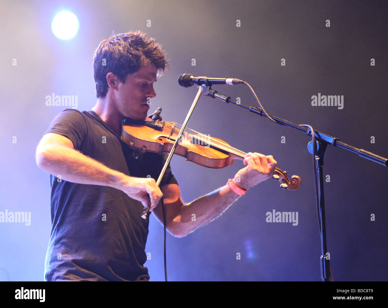 Seth Lakeman at Fairport Conventions Cropredy Festival 14th August 2009 - Stock Image