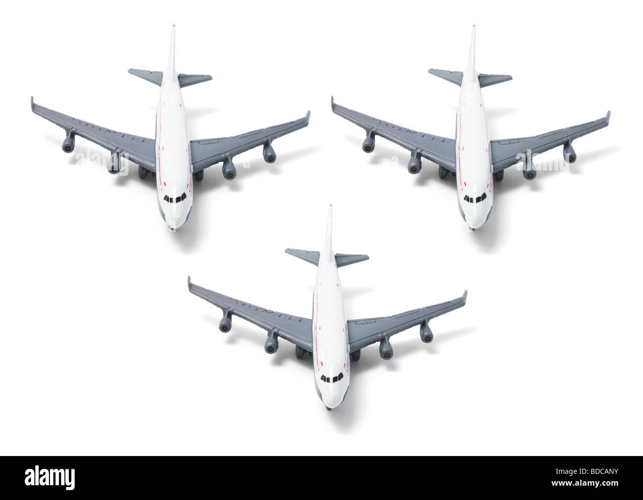 Plane Models Stock Photo