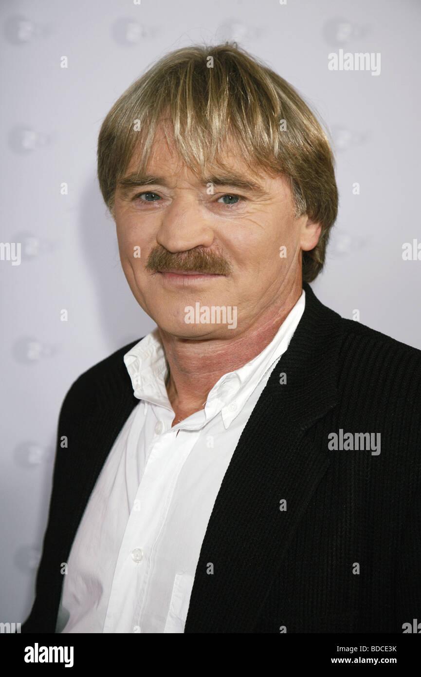 Schreier, Hartmut, * 1952, German actor, portrait, photo call to the tv series 'SOKO 5113', Hamburg, 21.8.2008, - Stock Image