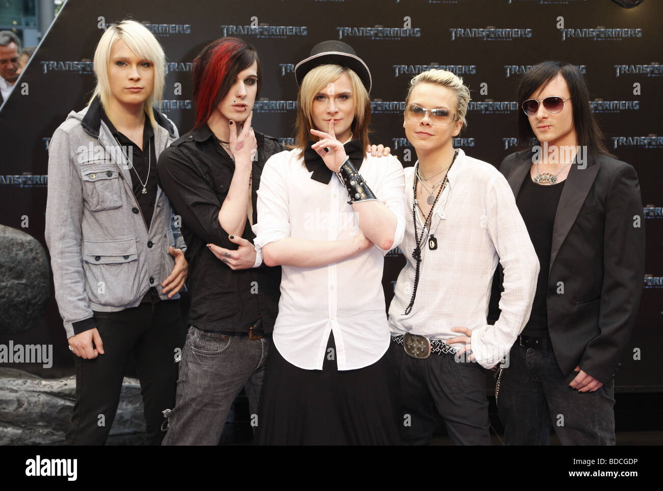 Cinema Bizarre, German music band, group picture, during film Stock Photo -  Alamy